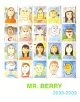 Mr Berry Self Portrait Poster