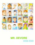 Mr Devore Self Portrait Poster