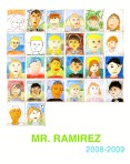 Mr Ramirez self portrait poster