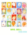 Mrs Bell Self Portrait Poster