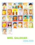Mrs Saldivar Self Portrait Poster