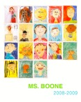 Ms. Boone Self Portrait Poster