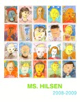 Ms Hilsen Self Portrait Poster